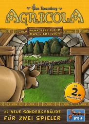 Agricola für 2 - NOCH mehr Ställe für das liebe Vieh - 2. Erweiterung