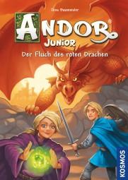 Andor Junior - Buch - Der Fluch des roten Drachen