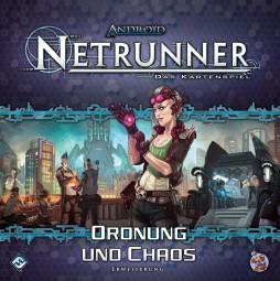Android Netrunner - Das Kartenspiel - Ordnung und Chaos Erweiterung