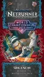 Android Netrunner - Das Kartenspiel - Valencia - Runner Weltmeister-Deck