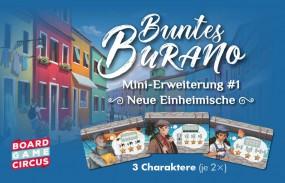 Buntes Burano - Neue Einheimische Erweiterung