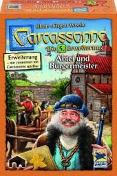 Carcassonne - Abtei und Bürgermeister - 5. Erweiterung Neuauflage