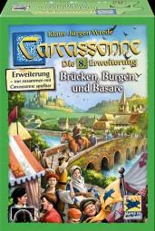 Carcassonne - Brücken, Burgen & Bazare - 8. Erweiterung Neuauflage