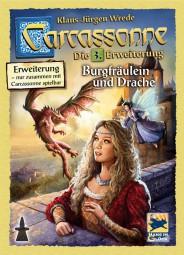 Carcassonne - Burgfräulein und Drache - 3. Erweiterung Neuauflage