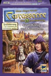 Carcassonne - Graf, König und Konsorten Erweiterung Neuauflage