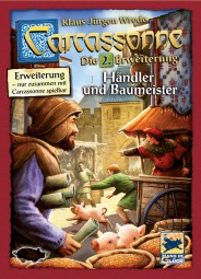 Carcassonne - Händler und Baumeister - 2. Erweiterung Neuauflage