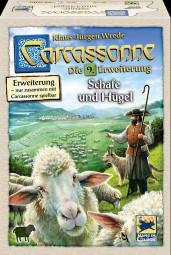 Carcassonne - Schafe & Hügel - 9. Erweiterung Neuauflage