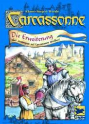 Carcassonne - Wirtshäuser und Kathedralen - 1. Erweiterung