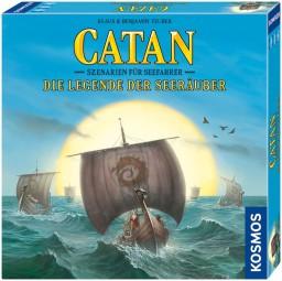 Catan - Szenarien für Seefahrer Erweiterung - Die Legende der Seeräuber