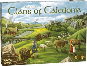 Clans of Caledonia - Standard Version (deutsch)