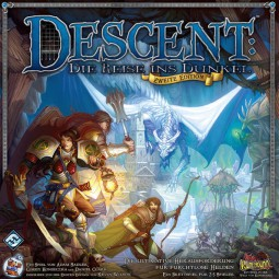 Descent - Die Reise ins Dunkel - 2. Edition (deutsch)