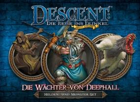Descent - Helden- und Monster-Set - Wächter von Deephall