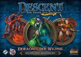 Descent - Helden- und Monster-Set - Erwachen der Wildnis