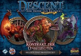Descent - Helden- und Monster-Set - Kontrakt der Unbesiegten