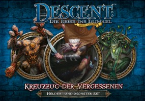 Descent - Helden- und Monster-Set - Kreuzzug der Vergessenen