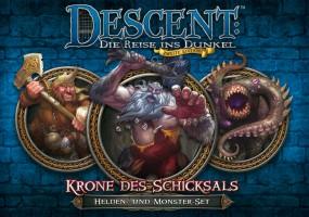 Descent - Helden- und Monster-Set - Krone des Schicksals