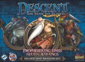 Descent - Helden- und Monster-Set - Prophezeiung eines neuen Anfangs