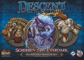 Descent - Helden- und Monster-Set - Scherben von Everdark