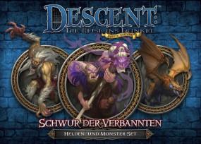 Descent - Helden- und Monster-Set - Schwur der Verbannten