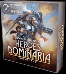 Magic: The Gathering - Heroes of Dominaria Board Game Premium Edition