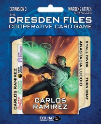 The Dresden Files - Expansion 3 - Wardens Attack