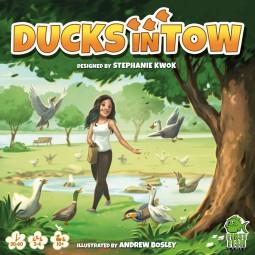 Duck in tow (englisch)