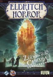Eldritch Horror Brettspiel - Zeichen von Carcosa Erweiterung