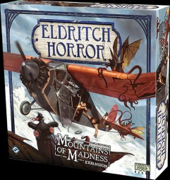 Eldritch Horror Boardgame - Mountains of Madness expansion