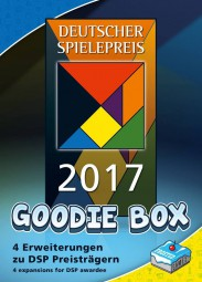 Deutscher Spielepreis Goodie-Box 2017 - First Class, Great Western Trail, Fest für Odin