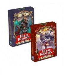 Hero Realms (deutsch) - Boss Decks Drache & Lich