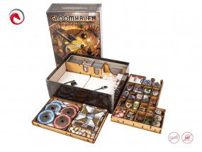 Insert: Gloomhaven - Jaws of the lion / Die Pranken des Löwen