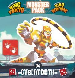 King of Tokyo Neuauflage - Monster Pack Cybertooth Erweiterung