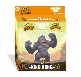 King of Tokyo Neuauflage - Monster Pack King Kong Erweiterung