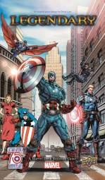 Legendary: Captain America 75th Anniversary Expansion (Marvel)