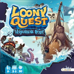 Loony Quest - Versunkene Stadt Erweiterung
