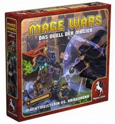 Mage Wars (deutsch) - Machtmeisterin vs. Kriegsherr Erweiterung