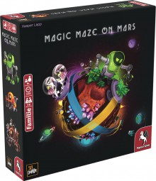 Magic Maze on Mars (deutsch)
