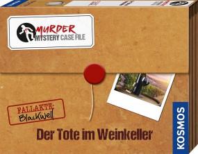 Murder Mystery Case File - Der Tote im Weinkeller