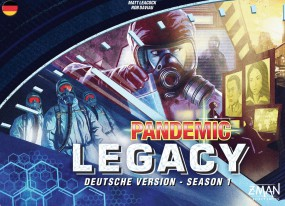 Pandemic / Pandemie Legacy - Season 1 (deutsch)