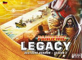 Pandemic Legacy - Season 2 gelb (deutsch) - versandkostenfrei