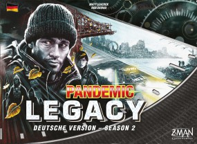 Pandemic Legacy - Season 2 schwarz (deutsch) - versandkostenfrei