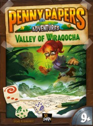 Penny Papers Adventures - The valley of Wiraqocha (deutsch / englisch)