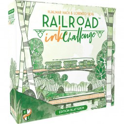 Railroad Ink deutsch - Edition Blattgrün