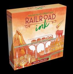 Railroad Ink deutsch - Edition Knallrot