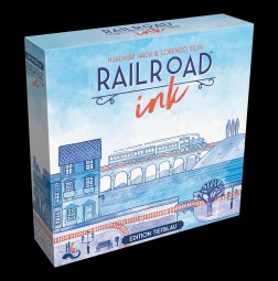 Railroad Ink - Edition Tiefblau