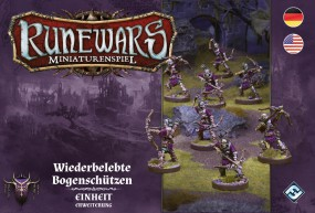 Runewars - Miniaturenspiel - Wiederbelebte Bogenschützen Erweiterung