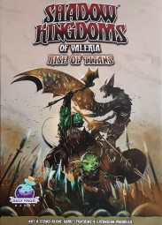 Shadow Kingdoms of Valeria - Rise of Titans Expansion (englisch)