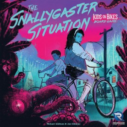 The Snallygaster Situation: Kids on Bikes Board Game (englisch)