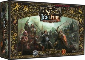 A song of ice & fire - Stark vs. Lennister Starter-Set