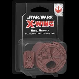 X-Wing - 2. Edition - Rebel Alliance Maneuver Dial Upgrade Kit